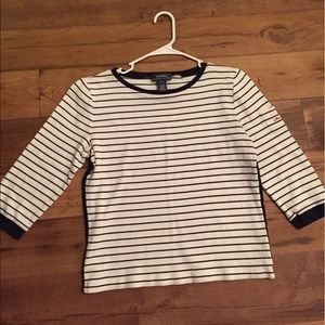 Vintage Ralph Lauren Striped Long Sleeve Shirt